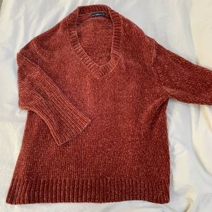 Zara Burnt Orange oversized sweater